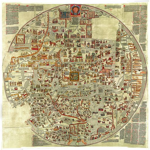 The Ebstorf Map, ca. 1300.